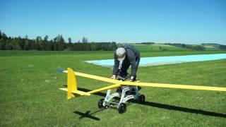 Teichner Startwagen für Segelflugmodelle