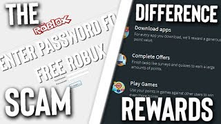 Roblox Scams vs Rewards Sites