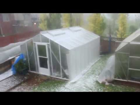 Hail Storm Airdrie AB July 30, 2016 Part 3