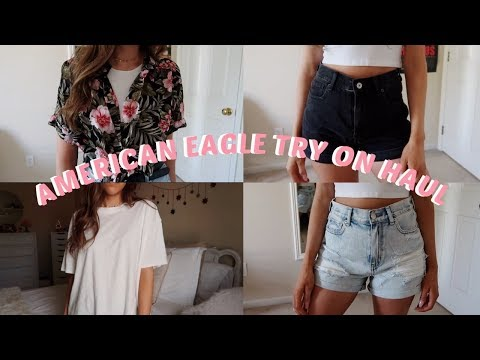 AMERICAN EAGLE SPRING & SUMMER TRY ON HAUL | 2019