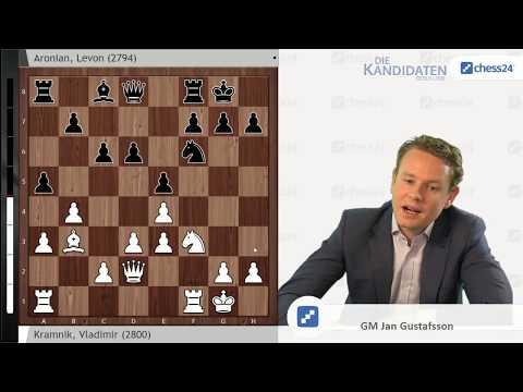 Kramnik - Aronian, Kandidatenturnier 2018: Weltklasseschach