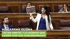 'La realidad tras la destitución de Pérez de los Cobos es que usted odia a la Guardia Civil'