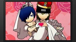 Persona Q: SotL - P3 MC & Shinjiro Wedding (P3) [Group Date Cafe]