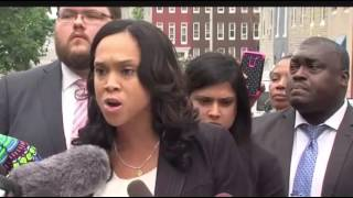 Marilyn Mosby Press Conference 7/27/16 by : LesGrossman News