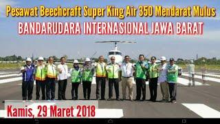 Download Video Pendaratan Pesawat Pertama Di Bandara Kertajati Jawa Barat 29 Maret 2018 MP3 3GP MP4
