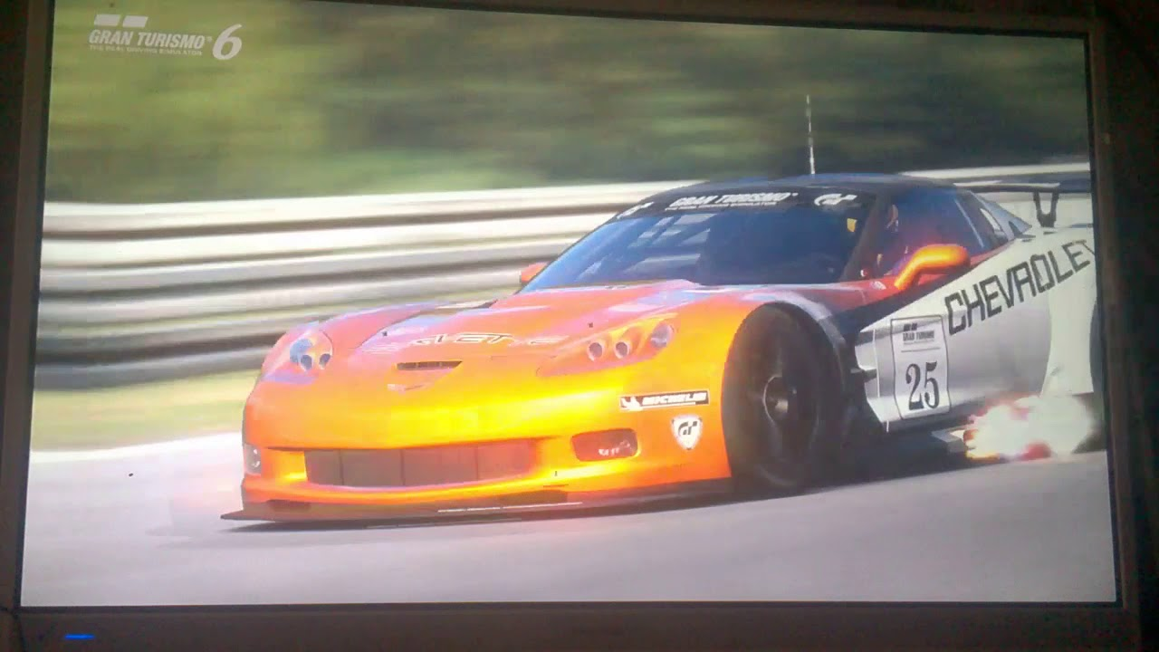 [GT6 Vue Galerie et Rediff] Corvette ZR1 LM Race Car '09