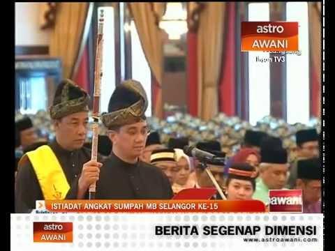 Istiadat Pelantikan Menteri Besar Selangor