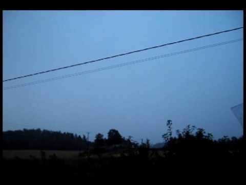 Thunderstorm TURKU/FINLAND 18.8.2009