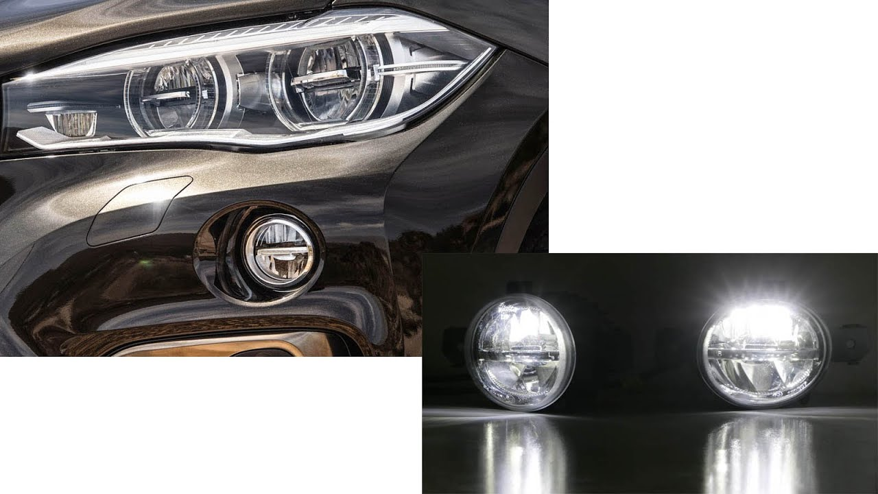 Oem Fit Cree High Power Led Fog Light Replacement Lamps For Bmw Infiniti Nissan Youtube