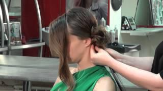 Как сделать красивый пучок из волос(Смотрите, как за 15 минут превратить себя в королеву дня. Покажу простой способ создания элегантного пучка..., 2015-06-25T08:04:18.000Z)