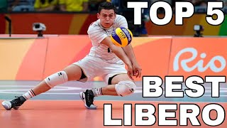 TOP 5 Best Libero in Volleyball History (HD)