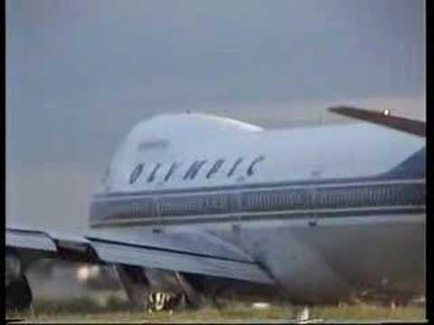 Olympic Airlines Boeing 747
