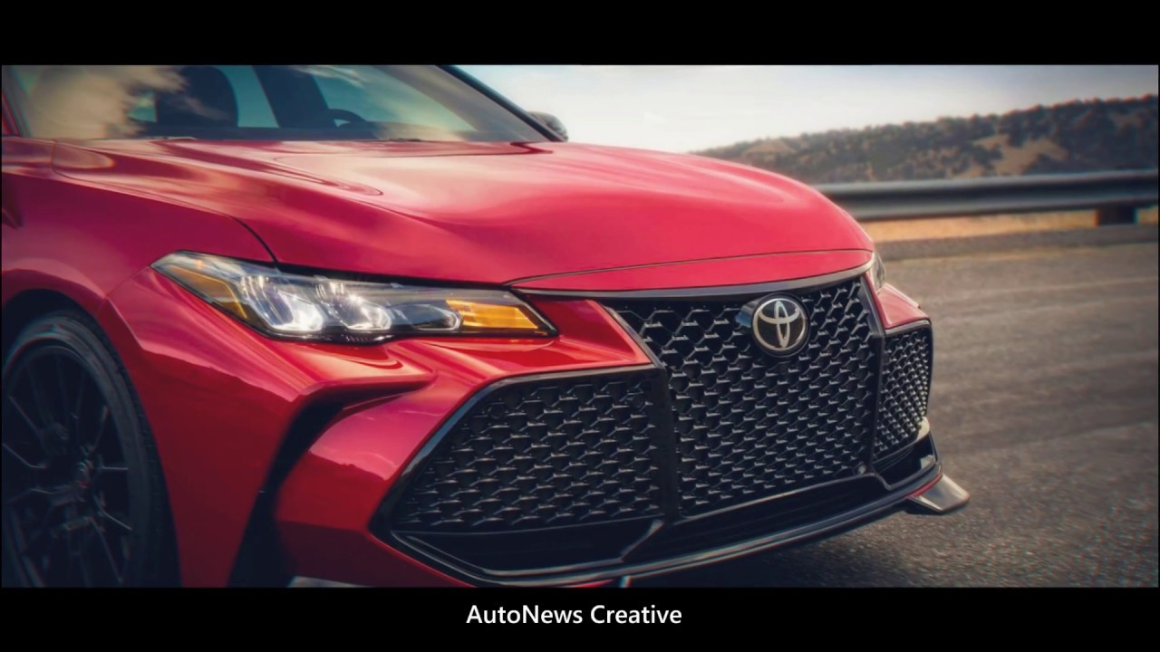 2020 Toyota Avalon Trd 3 5 V6 301 Hp Youtube