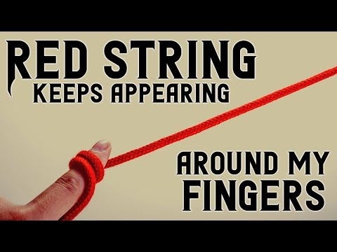 Red string keeps appearing around my fingers | Scary Stories from R/Nosleep | Creepypastas
