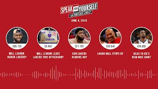 SPEAK FOR YOURSELF Audio Podcast (6.4.19) with Marcellus Wiley, Jason Whitlock | SPEAK FOR YOURSELF