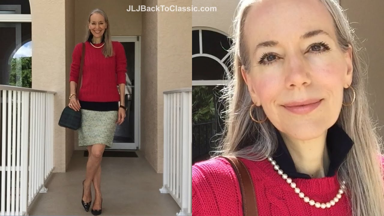 Classic clothing for women over 40