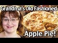 how to make grandma s old fashioned apple pie