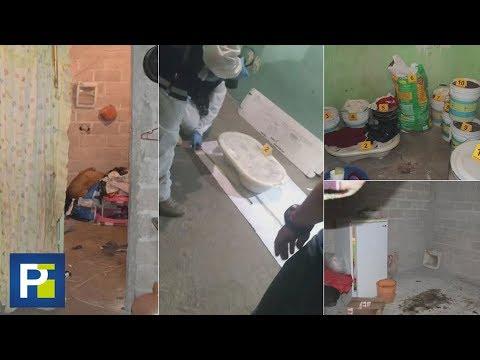 Así es el interior de la casa del matrimonio que asesinaba y descuartizaba a mujeres en México