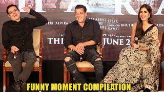 See Salman Khan's Greatest FUNNY Moment Compilation | Bharat Music Launch | Salman Khan,Katrina Kaif