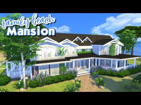 The Sims 4: Speed Build - Family Beach Mansion