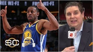Warriors have to start thinking about no Andre Iguodala in the finals - Windhorst | SC with SVP