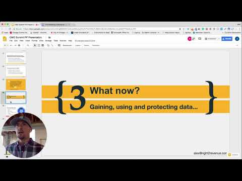 """THE NEW WORLD OF COLD OUTREACH AUTOMATION, GDPR and LEVERAGING DATA"" Parts 2 and 3"