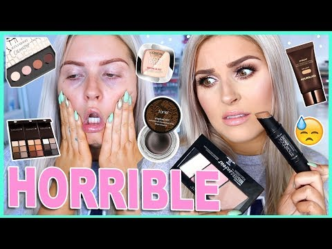 Full Face FIRST IMPRESSIONS 💀📛 Bad Makeup! 👎 FML