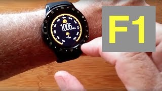 TenFifteen F1 Sports Smartwatch GPS Camera Compass USB Charging Blood Pressure: Unboxing & 1st Look