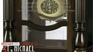 Howard Miller Lindsey Floor Grandfather Clock 611046