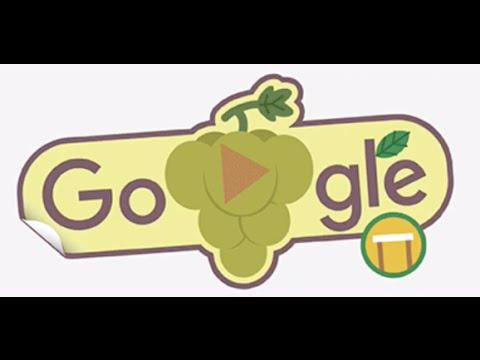 2016 Rio Olympics Google Doodle Grapes Hurdle Fruit Game 3