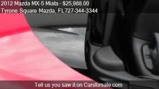 Mazada MX 5 Miata Special Edition 2012 Videos