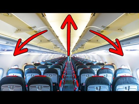 That's Why Airplanes Seem Spacious (But They Are Not)