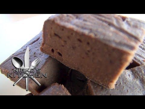 CHOCOLATE BROWNIES (No Added Sugar) - Nicko's Kitchen