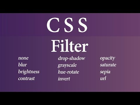 Filter In CSS (Hindi)