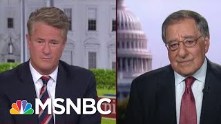Leon Panetta: A Drone Doesn't Warrant A Direct Strike | Morning Joe | MSNBC