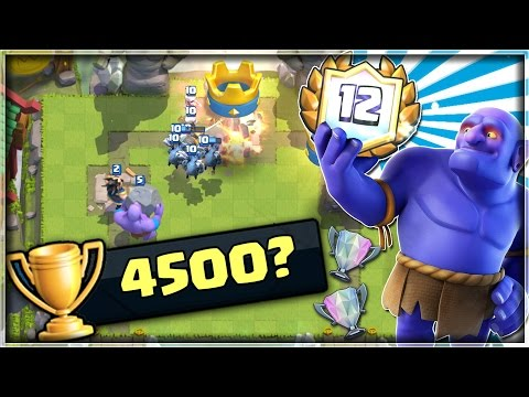 INSANE Battles With Bowler Control! | Push To 4500 Episode 1! | Clash Royale להורדה