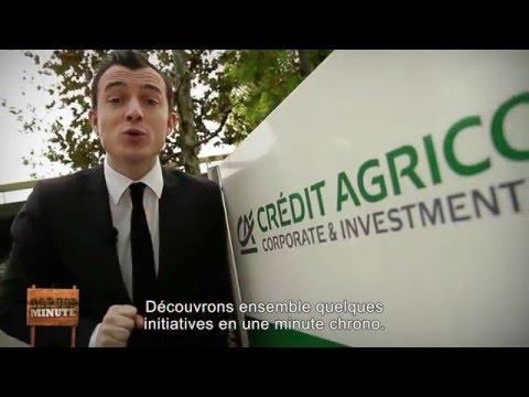 COP 21: les actions de Crédit Agricole CIB en matière de RSE