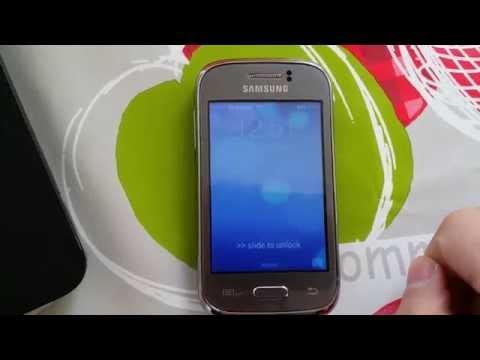 IOS mod Samsung galaxy y gt-s6310n