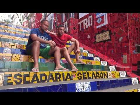 Escalera de Selarón - Barrio de Santa Teresa (Río de Janeiro)