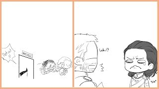 Funny Thorki Comics   That Will Make You Laugh And Then Cry   Funny Comics [PART 16]