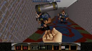 Let's Play: Duke Nukem 3D: Duke It Out in D.C. - Level 1 - Hell to the Chief