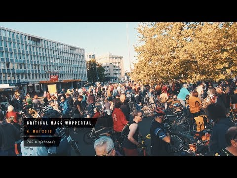Critical Mass Wuppertal - Mai 2018
