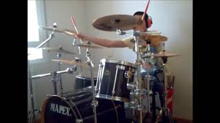 R.E.M. STRANGE CURRENCIES DRUMS COVER.wmv