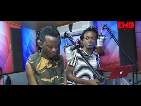 BAHATI & DAVID WONDER - Ndogo Ndogo Media Tour ( Radio Citizen) Part 1