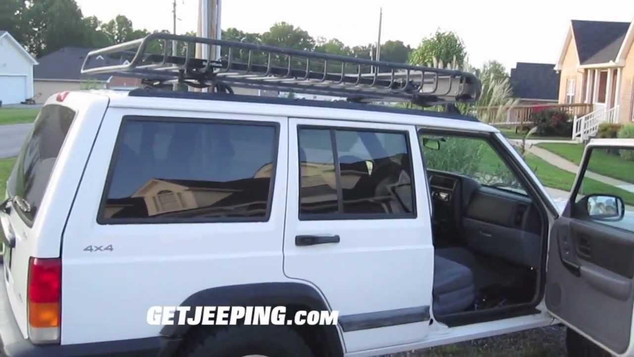 1998 Jeep Cherokee Xj Sport White Youtube