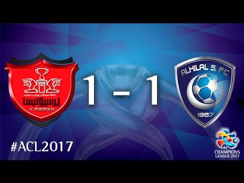 Persepolis FC vs Al Hilal SFC (AFC Champions League 2017 : Group Stage)