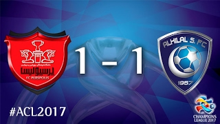 Persepolis FC vs Al Hilal SFC (AFC Champions League 2017 : Group Stage) 2017 Video