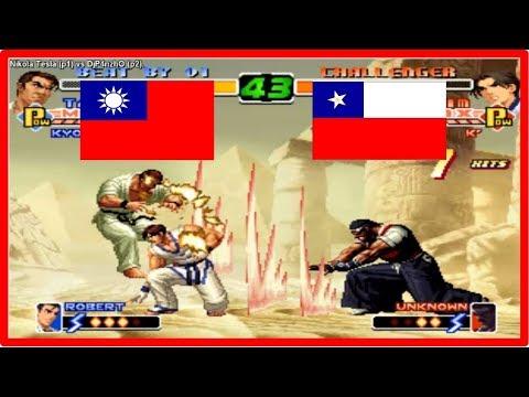 Kof 2000 - Nikola Tesla (taiwan) vs DjP4nzhO (chile) Fightcade