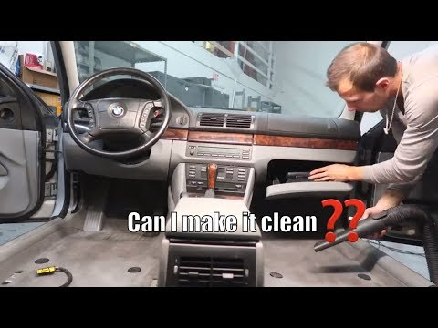 What it takes to get it CLEAN ? BMW 540i Wagon Complete interior Detail !