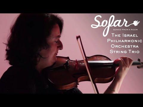 The Israel Philharmonic Orchestra String Trio - Oblivion | Sofar San Francisco